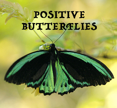 Positive Butterflies - Positive Thinking Network - Positive Thinking Doctor - David J. Abbott M.D.